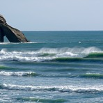 Wharaiki lefts, Wharariki Beach