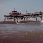 Nice Hurricane Arthur Waves at the CG Pier, Cherry Grove Pier