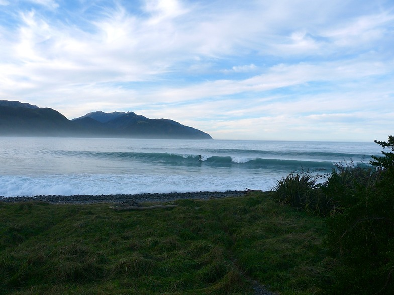 Mangamaunu incoming tide