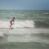 Small Miami surf, 21st Street (Miami)