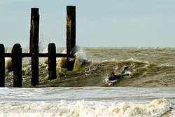 Winter swell in Domburg photo