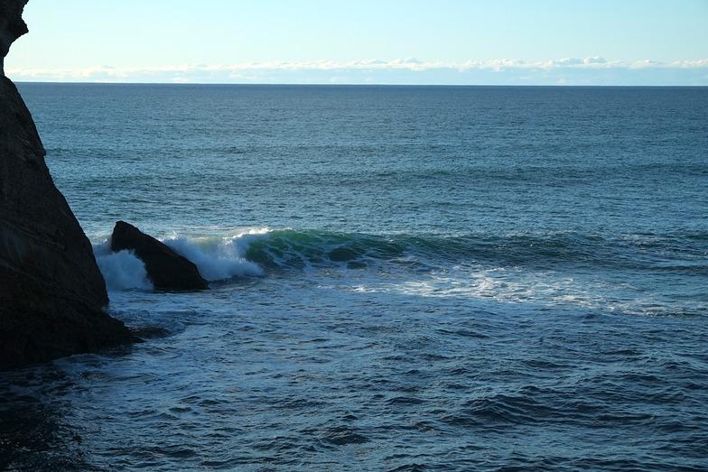 Falling tide, Fletchers Beach