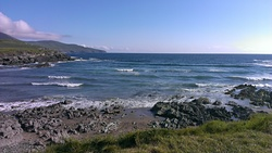 St finans bay half metre waves, St Finan's Bay photo