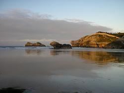 Playa de Palombina photo