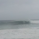 "heavy swell 6'8"", Black Rocks"