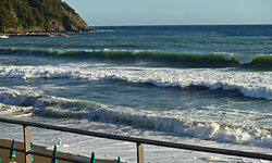 Waves in Levanto photo
