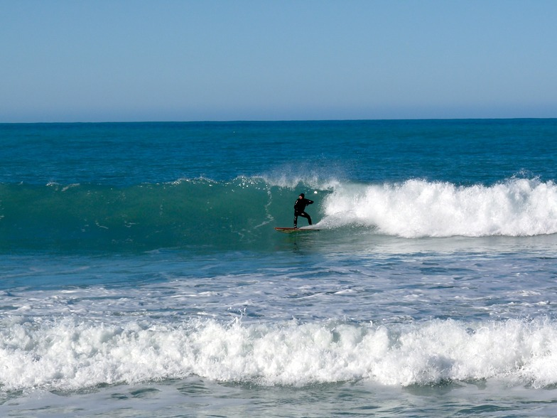 Incoming tide at Mangamaunu