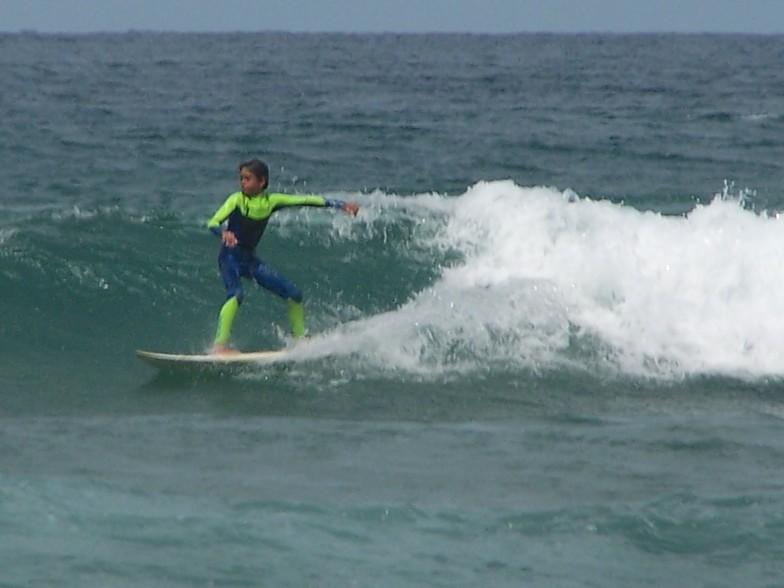 Surf en Laga, Playa de Laga