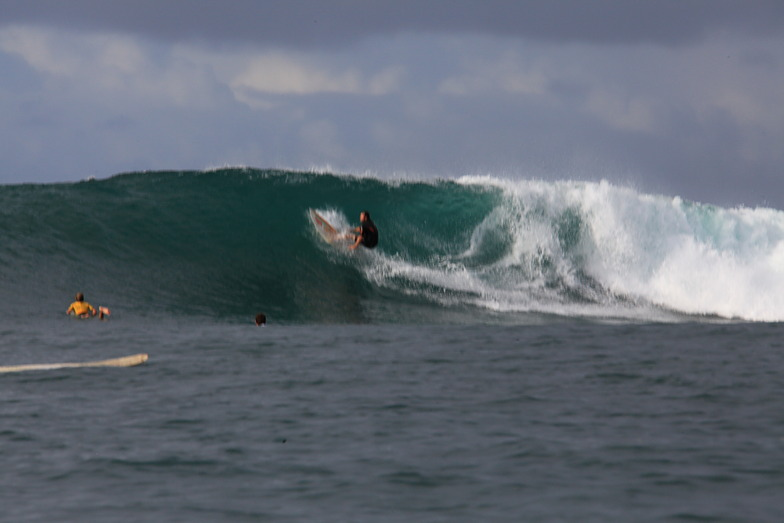 consistent swell, Gouaro