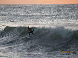 Night time surfing/sunset, Turtle Bay photo