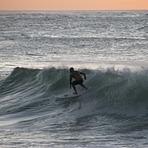 Night time surfing/sunset, Turtle Bay