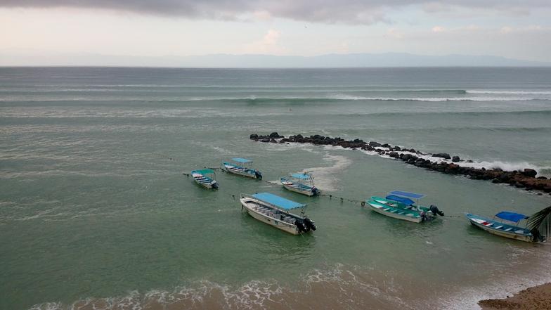 Friendliest of all breaks in Punta Mita, El Anclote