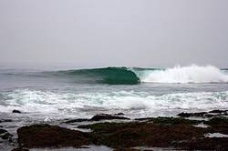 The most constant wave in the world, La Punta Uno photo