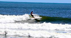Longboard fun, Bay Front photo