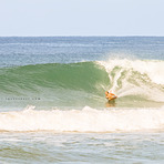 luciano bottom turn!, Playa Santa Teresa