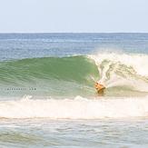 luciano bottom turn!, Playa Santa Teresa