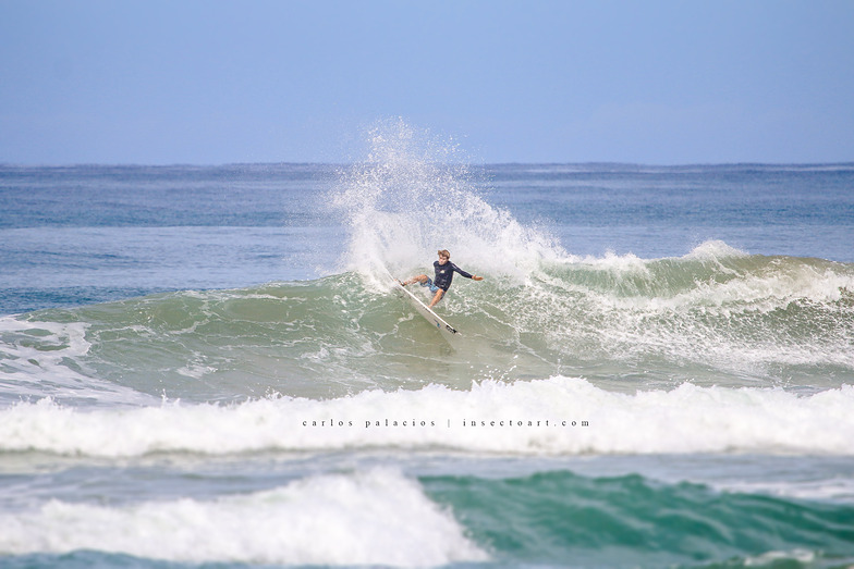 anthony fillingim ripping, Playa Santa Teresa
