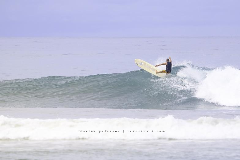 Ryan frontside attack, Playa Santa Teresa