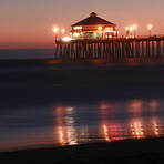 Dusk, Huntington Beach