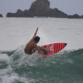 erick (leon) surf, Escolleras