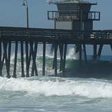 swell on the rise, Imperial Pier (North and South)