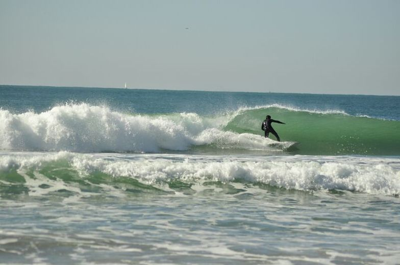 Noviembre, Playa de la Barrosa
