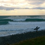 Mangamaunu east swell