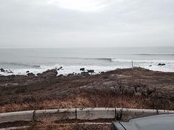 light offshore winds, Olas Verdes photo