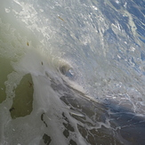 Close out barrel, Coronado Beaches
