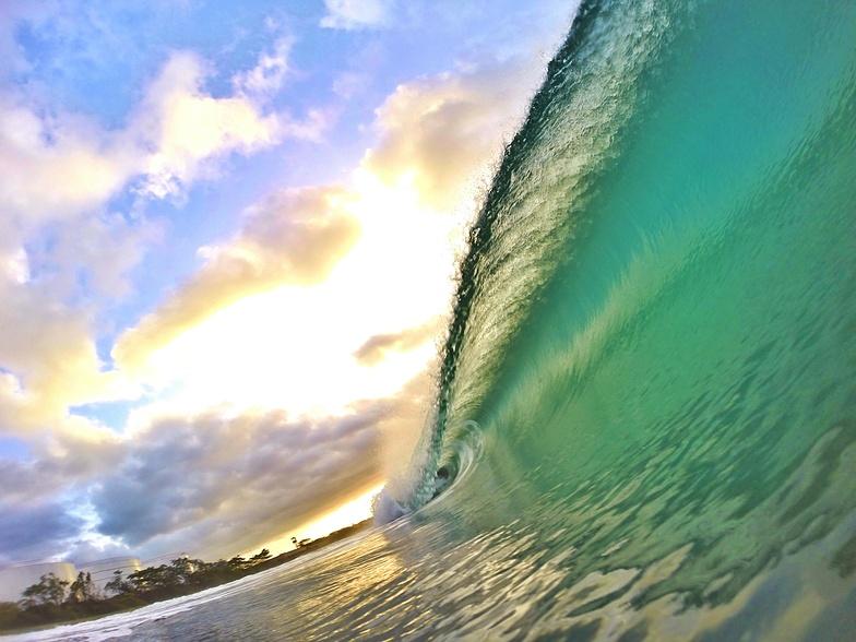 Sunrise at El Chinchorro (Red Beach)