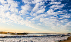 One Wave, Three Surfers, Salisbury Beach photo