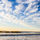 One Wave, Three Surfers, Salisbury Beach