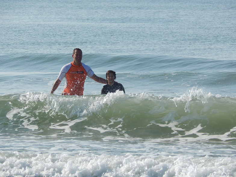 Aug 2014 Father & Son Surf, Apache Pier