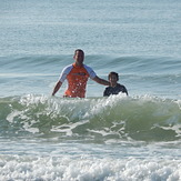Aug 2014 Father & Son Surf, Apache Pier