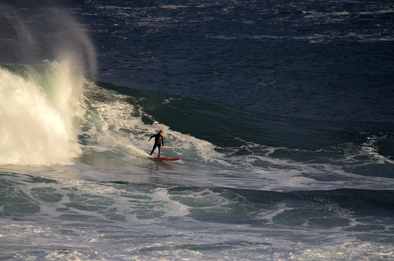 "Another ""paddle-in"" surfer, Mullaghmore"