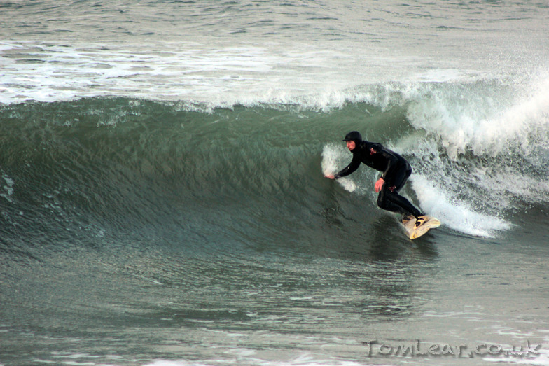 October 2014, Hells Mouth (Porth Neigwl)