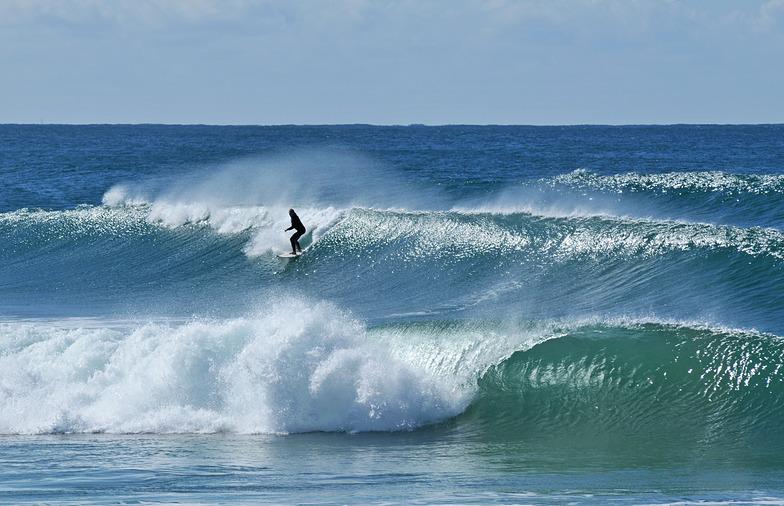 Offshore wind., Port Macquarie-North Breakwall