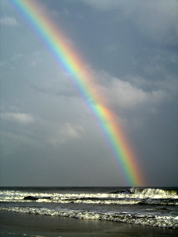 Rainbow Day At Topsail Island