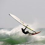 Wind surfing in Conil, Conil de la Frontera