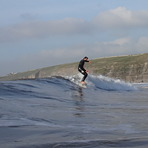 Nico on the nose, Southerndown