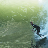 Another day at the point., Steamer Lane-The Point