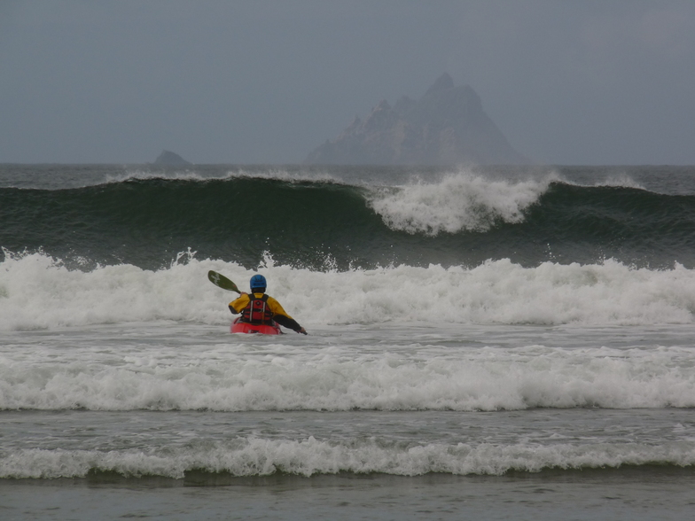 St Finan's Bay and the Skellig Islands