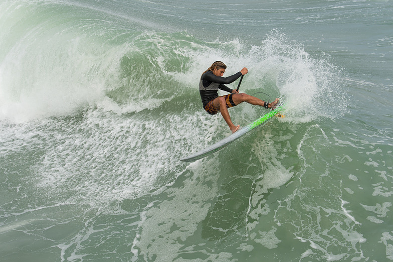 Cut back off the lip, Jupiter Inlet South Jetty
