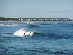 Little Beach storm swell, Ogunquit Rivermouth photo