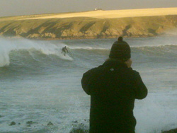 jonny mumbles, Sandend Bay photo