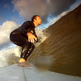 GoPro on Lake Michigan, Racine