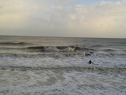 December surf, Walton-On-The-Naze photo