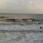 December surf, Walton-On-The-Naze
