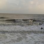 December surf, Walton-On-The-Naze