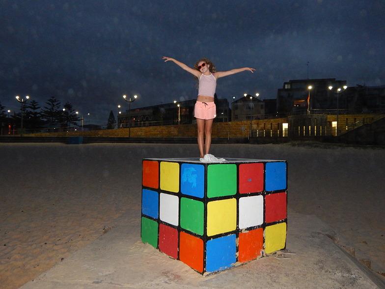 cubed  jemma, Maroubra Beach